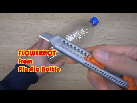 Flowerpot from Plastic Bottle (Easy to Make) | DIY SIMPLY DONE