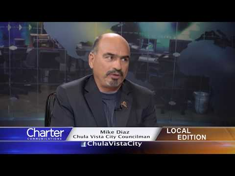 Charter-Cox Local Edition with Chula Vista Councilman Mike Diaz