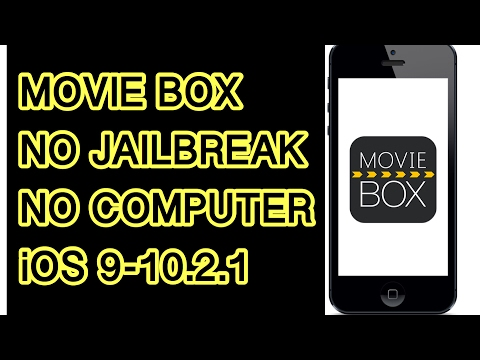 Install moviebox FREE iOS 9-10+ NO computer NO jailbreak 2017