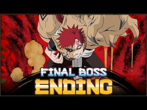 Gaara and Shukaku Final Boss Battle   NARUTO Ultimate Ninja BLAZING