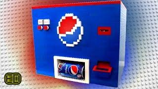 Lego Pepsi Machine