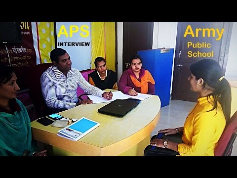 Army public school interview : AWES : PGT , TGT , PRT teacher
