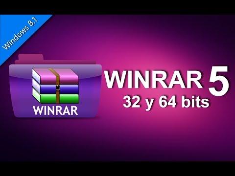 Descargar Winrar 64 bits i 32 bits .Full Windows