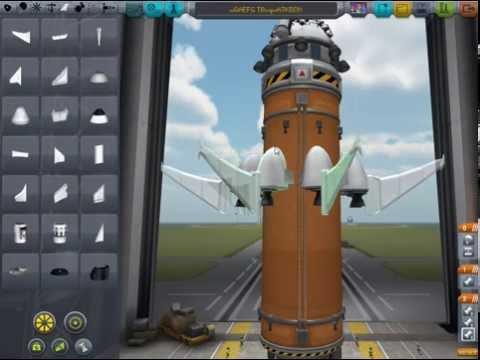 Building A Spaceship [Kerbal Space Program] Ep. 1