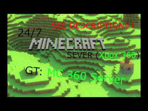 24/7 Minecraft Server for Xbox 360