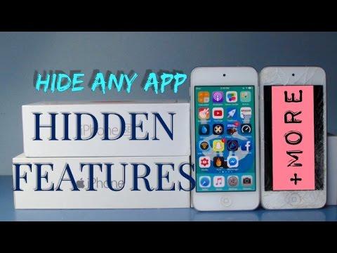 Secret,Hidden Features For iPhone,iPod,iPad iOS 9-10