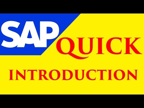SAP Training Online Tutorial - Especially for SAP Beginners