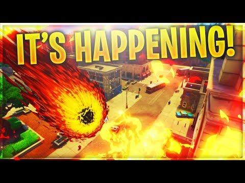 *LIVE* 'Meteor' Destroying Tilted Towers SOON! SUPERHEROES IN SEASON 4!? (Fortnite Battle Royale)