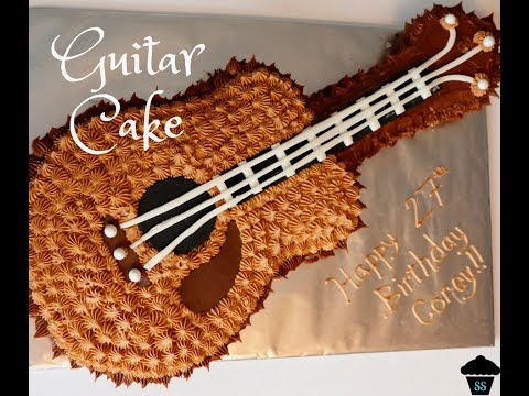 HOW TO | Guitar Cake