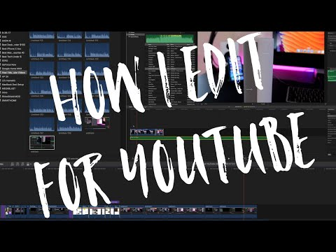 How I Edit YouTube Videos - The Basics