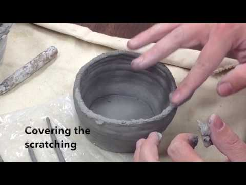 Clay Tips: Adding Coils to a Project
