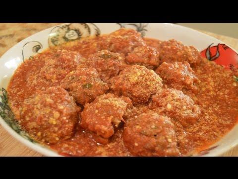 Stuffed Italian Style Meatballs