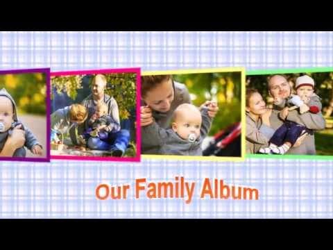 Family Photo Album - Theme for Photo Slideshow