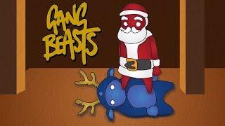 NOT SO HAPPY SANTA- Gang Beast