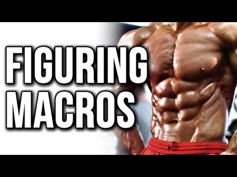 EASIEST WAY TO FIGURE OUT YOUR MACROS (BODYBUILDING MACROS)