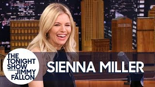 Sienna Miller Raced Against an Olympic Skier on One Ski