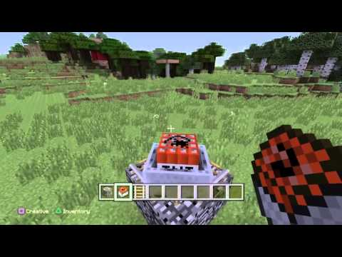 How To Make A Minecraft Nuke On PS3/PS4/Xbox360/XboxOne