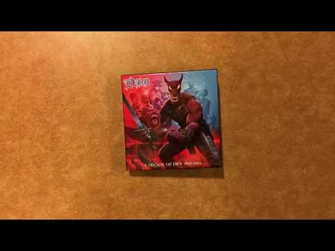 Dio CD box set stop motion animation