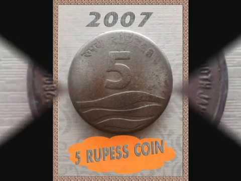 5 Rupee Commemorative coins india