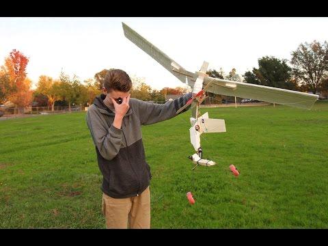 Mid-Flight Failure! (Scratch Building an RC Plane Pt.2)