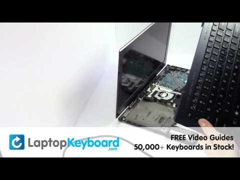 Sony VAIO VPC-SC Keyboard Replacement Installation Guide - PCG-41218L PCG-4121DL PCG-4121EL