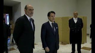 Quirinale Il Discorso Di Giuseppe Conte Dopo Il Colloquio Con Sergio Mattarella