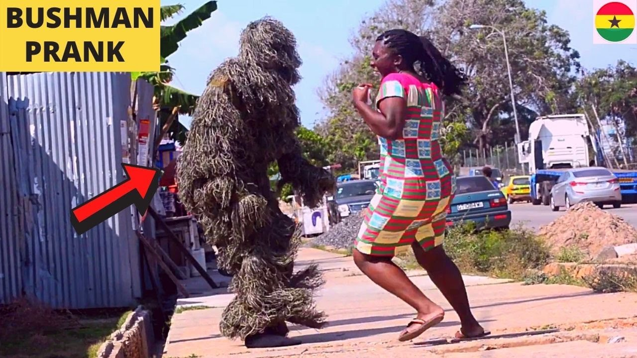 😂😂😂GREATEST SCARE PRANKS! Bushman, Mannequin, Goldman, Mask Pranks! Hilarious!
