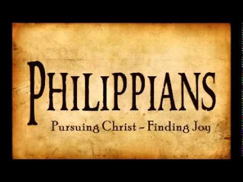 Pursuing Christ, Finding Joy part 1 (Phil 1:1-11)