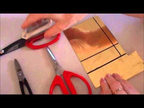 Cutting Metal with Tin Snips
