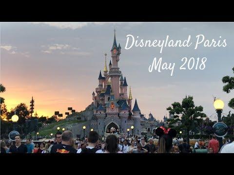 Disneyland Paris May 2018