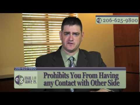 What is a Domestic Violence Protection Order? Seattle Divorce Attorney Eric Engel Explains