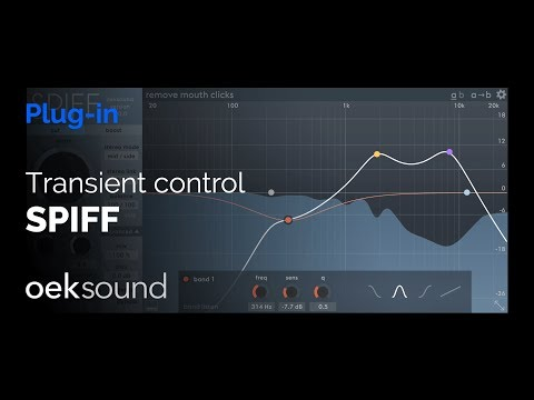 SPIFF - An adaptive transient processor by oeksound