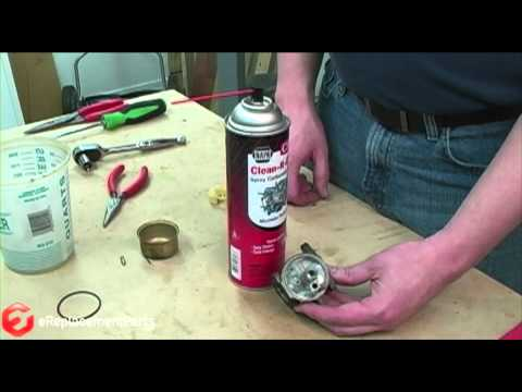 How to Clean a 4-Cycle Engine Carburetor