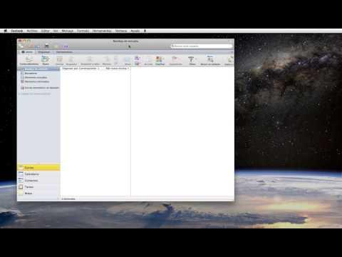 Outlook 2011 Mac - Configurar una cuenta de correo electrónico