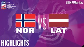 Norway vs. Latvia - Game Highlights
