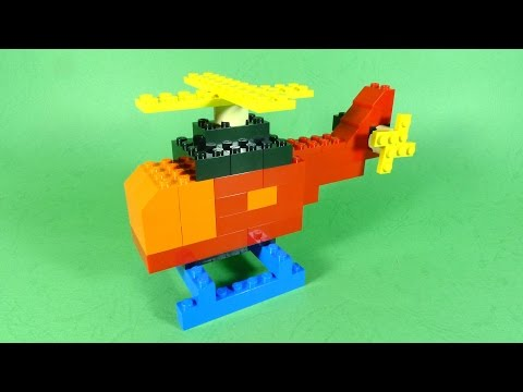 How To Make Lego HELICOPTER  - 10664 LEGO® Bricks and More Creative Tower Tutorial