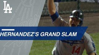 Enrique Hernandez cranks a grand slam