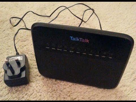 TalkTalk Huawei HG533 router (Unboxing)