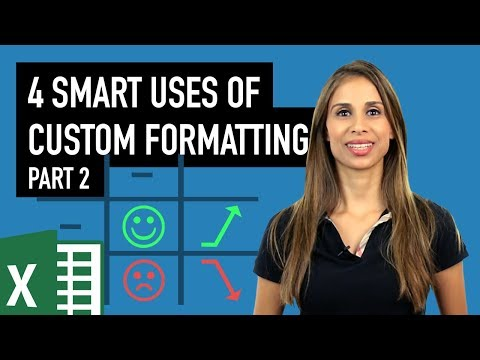 Part 2: 4 Smart Ways to use Custom Formatting instead of Conditional Formatting in Excel