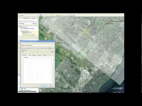 Google Earth tutorial #7 - Adding image overlays