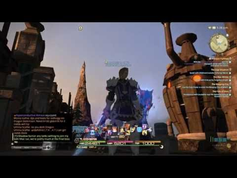 FFXIV - NEW RELIC WEAPON UPGRADE! [[ ilvl 240 patch 3.3 ]]