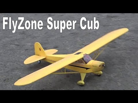 FlyZone Super Cub Lots of take offs and landings