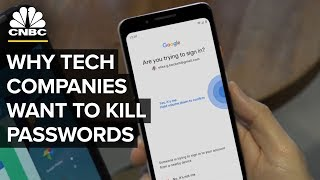 Why Big Tech Wants You To Ditch Your Password