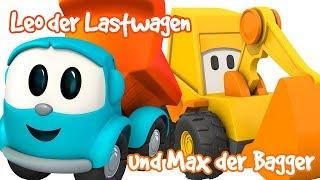 Leo Junior auf Deutsch🚜#Zeichentrickfilme auf Deutsch🚛Leo der Lastwagen/Max der Bagger auf Deutsch