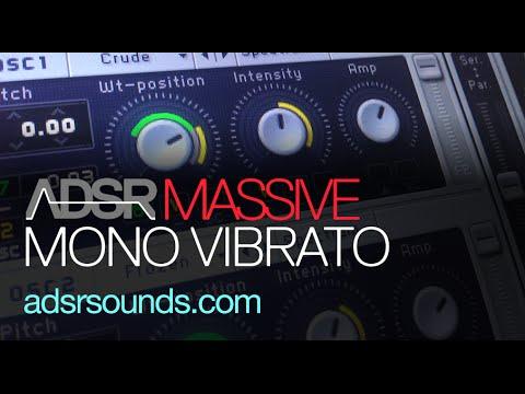 NI Massive Tutorial - Mono Vibrato
