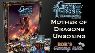 Download Game of Thrones Board Game: Mother of Dragons Expansion Unboxing Video