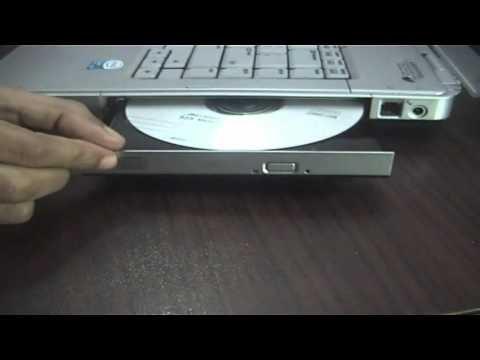 How to eject a stuck CD/DVD from Laptop's DVD drive