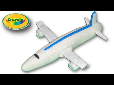 How to make Plane from Crayola Model Magic