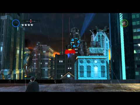 LEGO Batman 2 DC Super Heroes - Unlocking All Villain Characters in Gotham City South