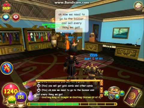 Wizard 101 easy gold!